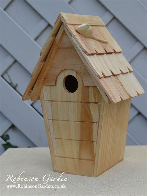 Bird Box by Robinson Garden Stamford Birdbox Nestbox