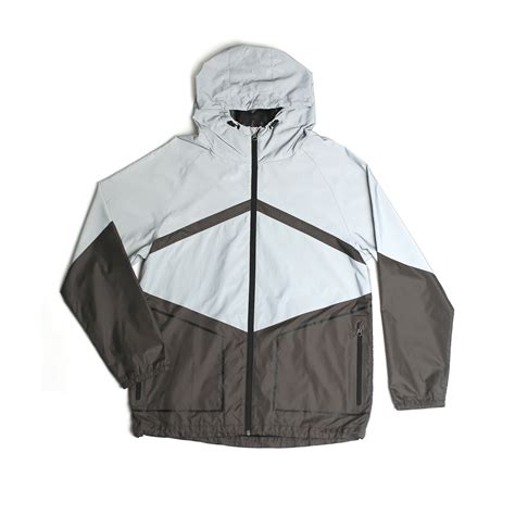 Jaket Zipper 2 Just For Persipura Jayapura Always Stand Here theory reflective zip jacket reflective silver s imperial motion touch of modern