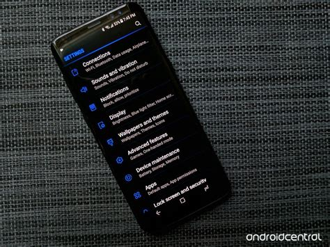 Silikon Note 8 Black Motif Android how to theme your galaxy s9 note 8 or galaxy s8 android central