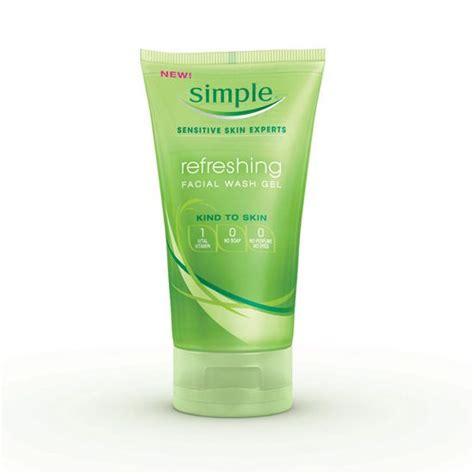 Wash Refreshing Blue For Acne Skin simple to skin refreshing wash gel reviews photos