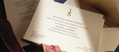 Luxury Wedding Invitations by Insignia Personalised Wedding Invitations The Letter Press