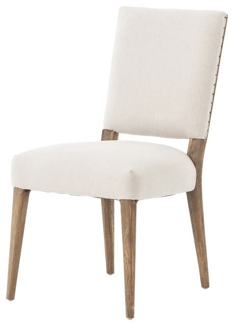 Modern Classic Dining Chairs Modern Classic Soft Beige Linen Dining Chair Modern Dining Chairs By Kathy Kuo Home