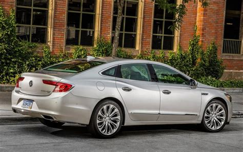 the 2018 buick lacrosse will more of the same luxury