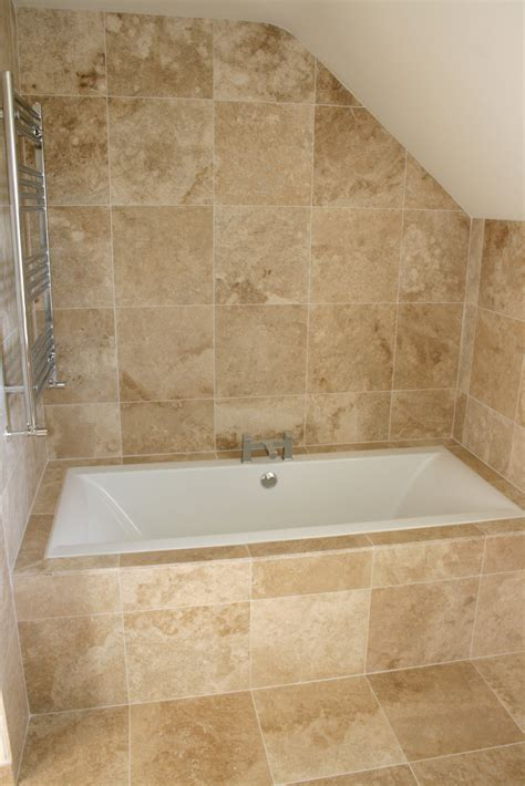 tiling a bathroom floor cost travertine bathroom tile home decoration