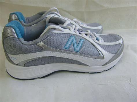 new womens new balance 496 walking shoes ww496gb wide width d whitegryblu 130f ebay