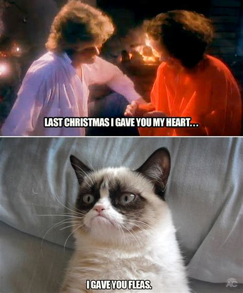 Last Christmas Meme - last christmas grumpy cat know your meme