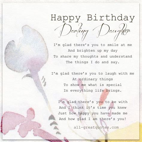 printable happy birthday cards for my daughter happy birthday darling daughter free cards for daughter