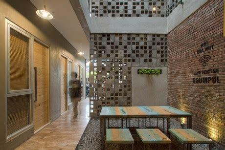 Pajangan Dinding Restoran Cafe Hotel Rumah Wall Deco Print Di Kayu S 66 andyrahman architect projects