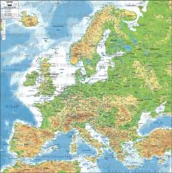 Map Of Europe Mountains by Europe Travel Rexadventure