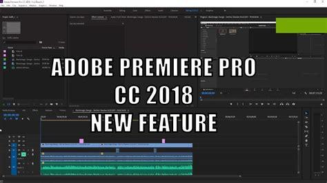tutorial adobe premiere cc adobe premiere pro cc 2018 tutorial youtube