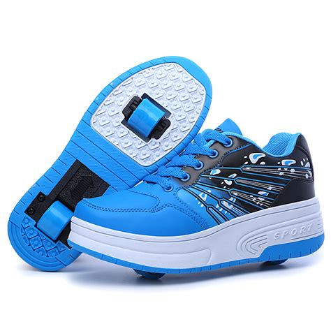 and summer ultra light shoes child with wheels dual