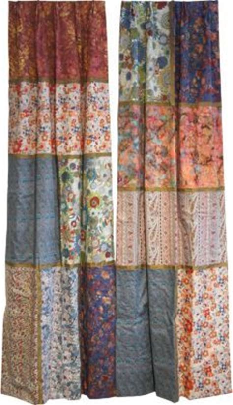 Patchwork Quilt Curtains - 1000 images about home curtains on patchwork