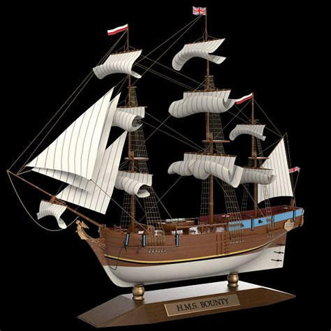 ship decor home max bounty sailboat ship