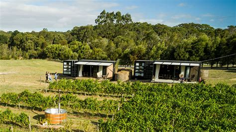 wine   shipping container hotels  victoria