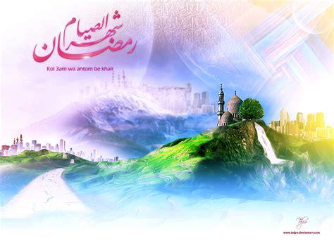 wallpaper pemandangan islami stok wallpaper