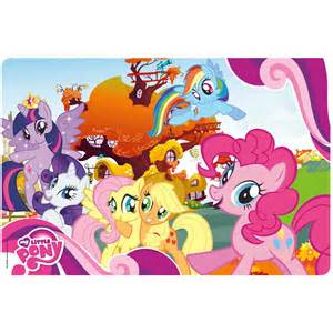 Mini Storage Containers - my little pony kids plastic placemats by zak
