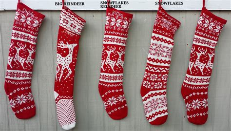 images of knitted christmas stockings knitted christmas stockings red white