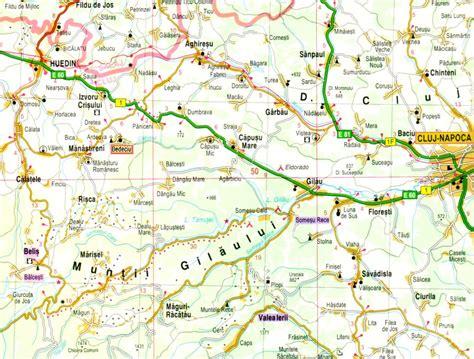 cluj napoca romania map cluj napoca to huedin map romania counties and cities maps