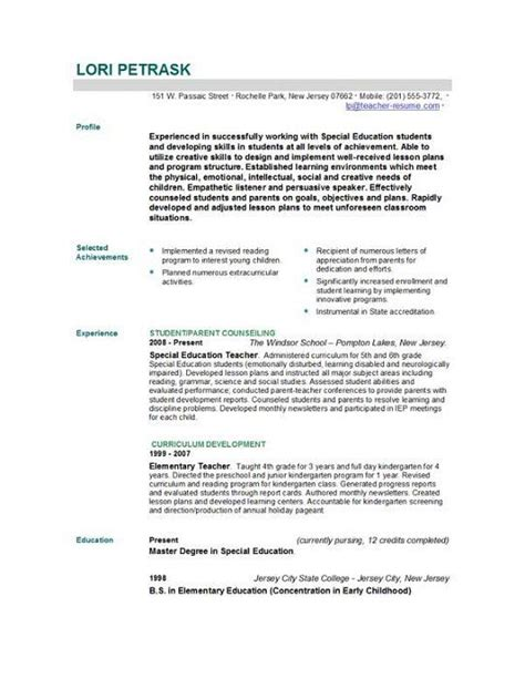 Resume Layout Sles by 18 Best Resume Images On Resume Curriculum