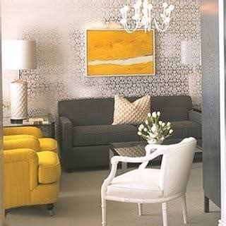 Yellow And Grey Chair Design Ideas Gray And Yellow Room Contemporary Living Room Wearstler