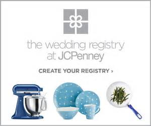 wedding registry jcpenney 2life marissa oppi all decked out