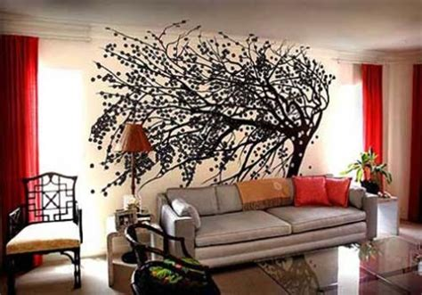 Living Room With Tree 10 Awe Inspiring Feature Walls Frances Hunt