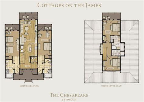 chesapeake floor plan cottages on the james kingsmill resort williamsburg va