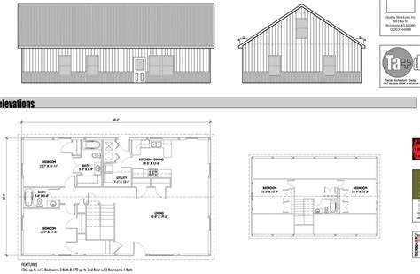 30 X 60 Morton Building House Plans 40x50 Metal Building Floor Plans Free Home Design Ideas