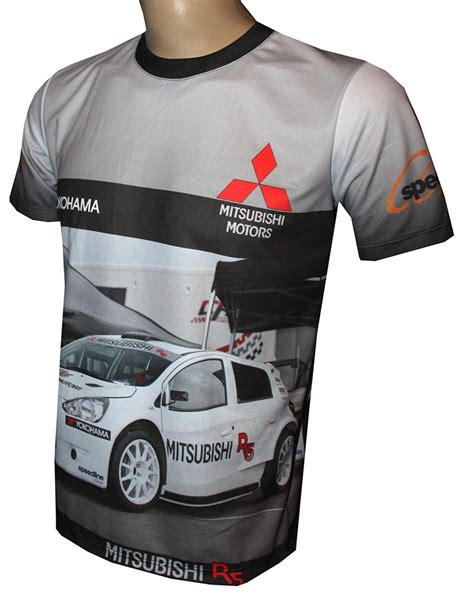 Tshirt R5 mitsubishi r5 t shirt with logo and all printed