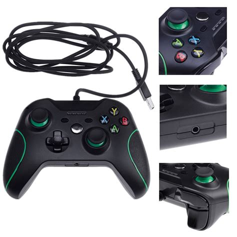 Microsoft Xbox One Controller For Windows sale usb wired controller controle for windows pc