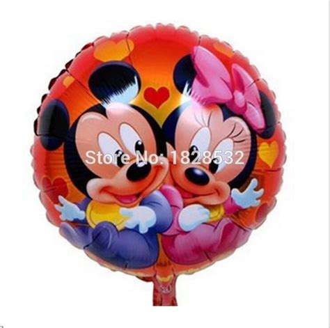 Balon Foil Polos 18 Inch free shipping 18inch mickey baby foil balloons children birthday decoration