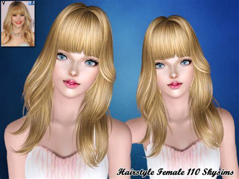 sims 3 custom content fringe hairstyle full with fringe hairstyle 110 by skysims sims 3 hairs
