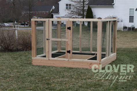 diy garden bed enclosure