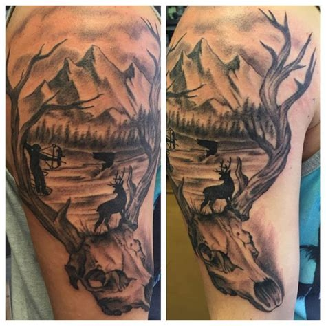 tattoo camo uk 25 great ideas about hunting tattoos on pinterest