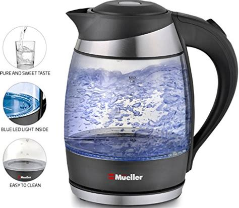 Sa Idealife Automatic Electric Kettle 2 Cups Included Il 100n kona electric kettle 1 2l cordless best bpa free glass water kettle black micromally