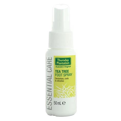 buy thursday plantation tea tree foot spray 50ml at