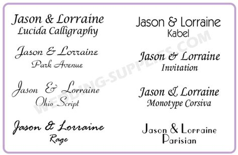 Wedding Fonts And Graphics by Wedding Fonts