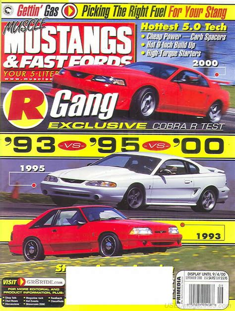 mustangs and fast fords back issues backissues mustangs fast fords september