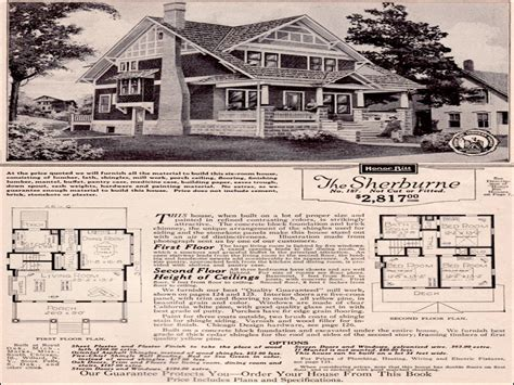 sears craftsman house sears craftsman bungalow house plans sears craftsman house