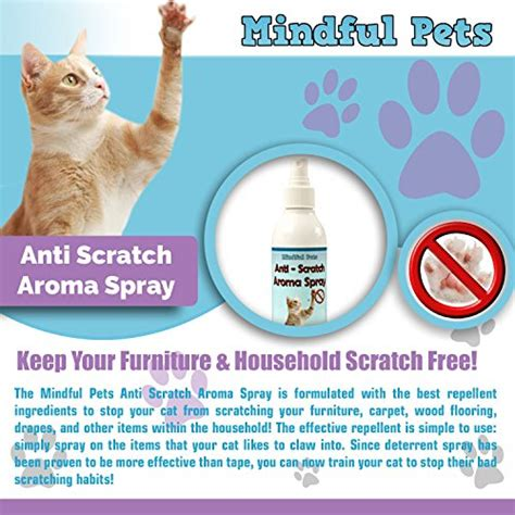 stop cat scratching spray cat scratch deterrent spray solution to