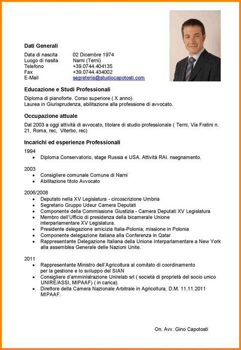 Modelo De Curriculum Utilizado En Espaã A Curriculum Vitae Ejemplo