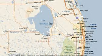 pahokee florida map map of pahokee