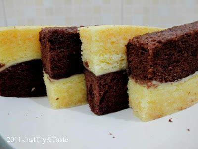resep membuat roti bakar ala cafe resep cake kukus lapis coklat keju just try taste