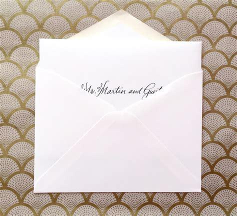 wedding invitation envelope edicate nico and lala wedding invitation etiquette inner and outer envelopes