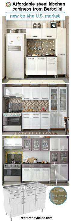 Bertolini Steel Kitchens by Aqua Ge Metal Kitchen Cabinets For Sale On The Forum