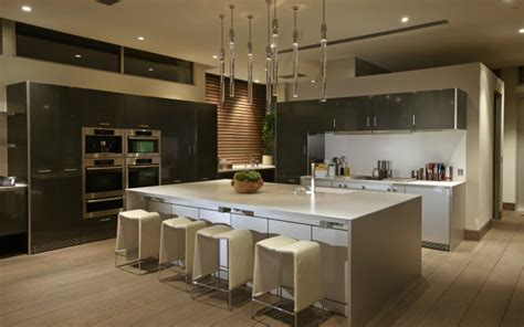 modern kitchen cabinets contemporary los angeles by house with spectacular downtown city views
