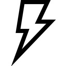 Flash Lightning Bolt Outline by Outlines Of Lightning Bolt Clipart Best