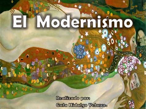 imagenes sensoriales del modernismo el modernismo