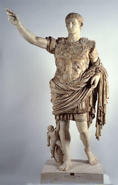 augusto di prima porta al via oggi la mostra dedicata all imperatore augusto a
