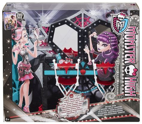 monster high bedroom accessories uk monster high frights camera action dressing room accessory